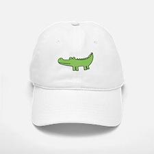 """""""allie gator"""" Baseball Baseball Cap"""