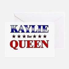 KAYLIE for queen Greeting Card