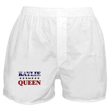 KAYLIE for queen Boxer Shorts