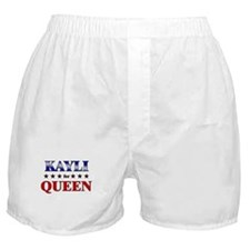 KAYLI for queen Boxer Shorts