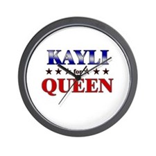 KAYLI for queen Wall Clock