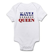 KAYLI for queen Infant Bodysuit