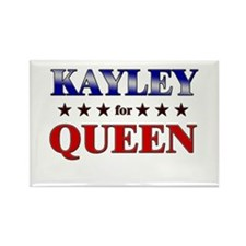 KAYLEY for queen Rectangle Magnet