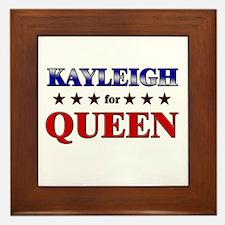 KAYLEIGH for queen Framed Tile