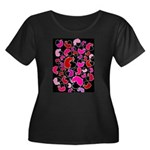 For the love of Mice Women's Plus Size Scoop Neck