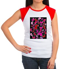 For the love of Mice Women's Cap Sleeve T-Shirt