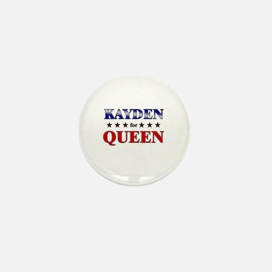 KAYDEN for queen Mini Button