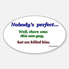 Quotes Oval Decal