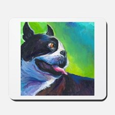 Boston Terrier Dog #12 Mousepad