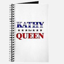 KATHY for queen Journal