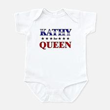 KATHY for queen Infant Bodysuit