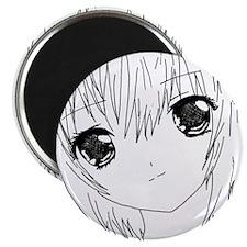 Neon Lilith Manga Girl Magnets