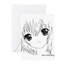 Unique Japanese Greeting Cards (Pk of 10)
