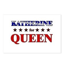 KATHERINE for queen Postcards (Package of 8)