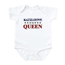 KATHARINE for queen Infant Bodysuit