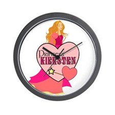 Princess Kiersten Wall Clock