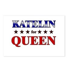 KATELIN for queen Postcards (Package of 8)
