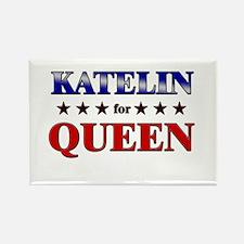 KATELIN for queen Rectangle Magnet