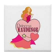 Princess Kaydence Tile Coaster