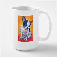 Boston Terrier Dog #13 Large Mug