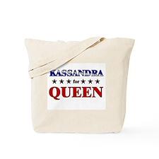 KASSANDRA for queen Tote Bag