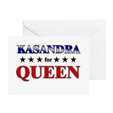 KASANDRA for queen Greeting Card