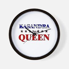 KASANDRA for queen Wall Clock