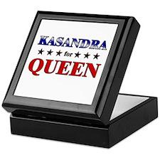 KASANDRA for queen Keepsake Box