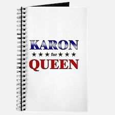 KARON for queen Journal