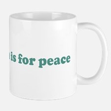 My intention is for peace (bl Mug