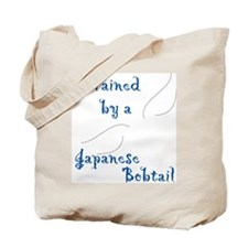 Trained by a Bobtail Tote Bag