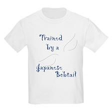 Trained by a Bobtail Kids T-Shirt