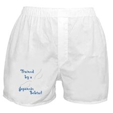 Trained by a Bobtail Boxer Shorts