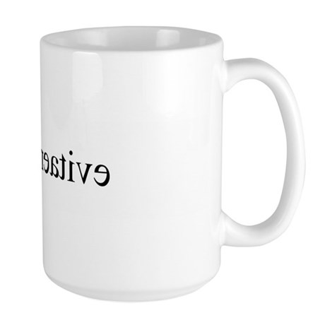 I am creative (mirror) Large Mug