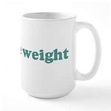 I can lose weight (blue) Mug