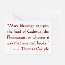 Cadmus & Phoenicians<br> Greeting Cards (Package o
