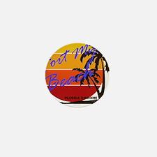 Florida - Fort Myers Beach Mini Button