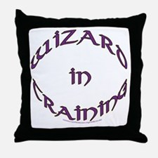 Witch in training Throw Pillow