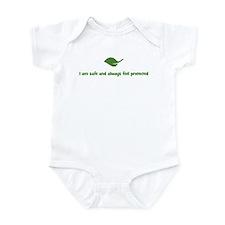 I am safe and always feel pro Infant Bodysuit