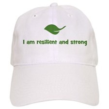 I am resilient and strong (le Baseball Cap