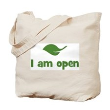 I am open (leaf) Tote Bag
