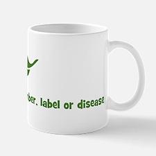 I am more than a number, labe Mug
