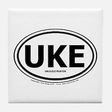 Unique Ukelele Tile Coaster
