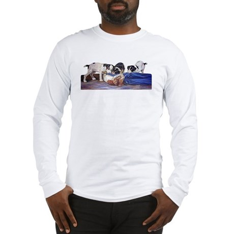Friendly Tussle Long Sleeve T-Shirt