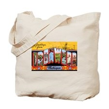 Ironwood Michigan Greetings Tote Bag