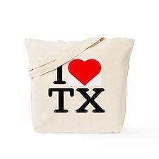 I Love Texas - Tote Bag