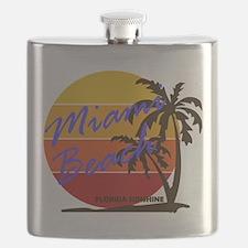 Florida - Miami Beach Flask