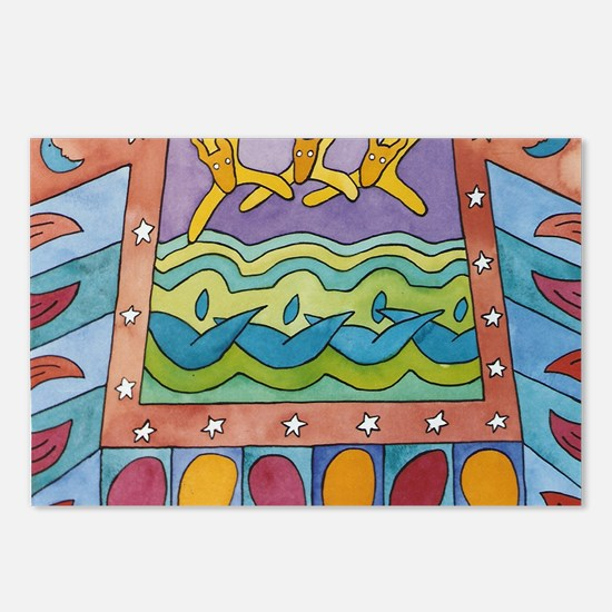 Summer Time Postcards (Package of 8)
