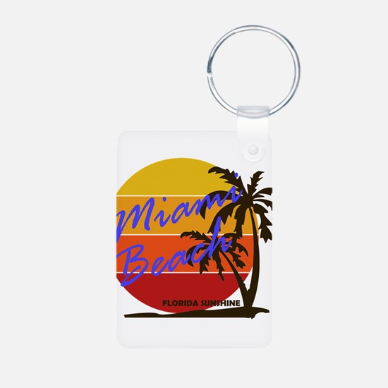 Florida - Miami Beach Keychains