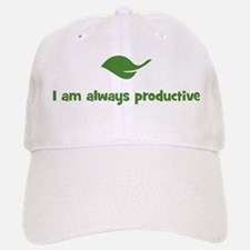 I am always productive (leaf) Baseball Baseball Cap